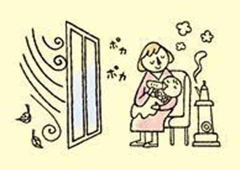 外窓のリフォーム 隙間から熱の損失を防ぐ