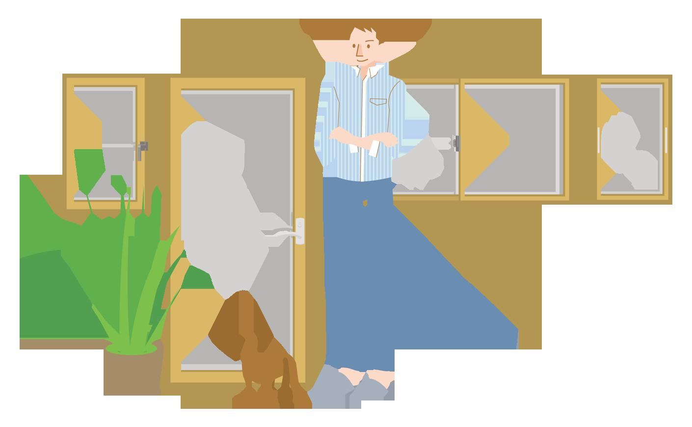 内窓のリフォーム|防犯効果